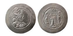 Ancient Coins - SASANIAN KINGS. Yazdgird II. AD. 438-457. AR Drachm. Choice FDC. Fully lustrous.