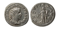 Ancient Coins - ROMAN EMPIRE. PHILIP I. 244-249 AD. AR Antoninianus.