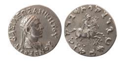 Ancient Coins - INDO-GREEK KINGS, Philoxenus. Ca. 125-110 BC. AR Tetradrachm. Rare.