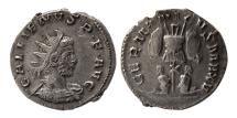 Ancient Coins - ROMAN EMPIRE. Gallienus. 256-259 AD. AR Antoninianus. Lovely strike.