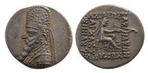 Ancient Coins - KINGS OF PARTHIA, Mithradates III. Circa 87-79 BC. AR Drachm. Lovely elegant style.