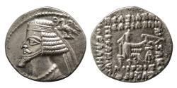 Ancient Coins - KINGS of PARTHIA. Phraates IV. 38/7-2 BC. AR Drachm.