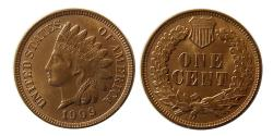 World Coins - UNITED STATES. 1909. Indian Head One Cent.