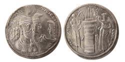 Ancient Coins - SASANIAN KINGS. Varhran (Bahram) II. AD. 276-293. AR Drachm.