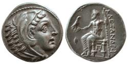 Ancient Coins - KINGDOM of MACEDON, Kassander as Regent. Circa 317-305 BC. AR Tetradrachm.