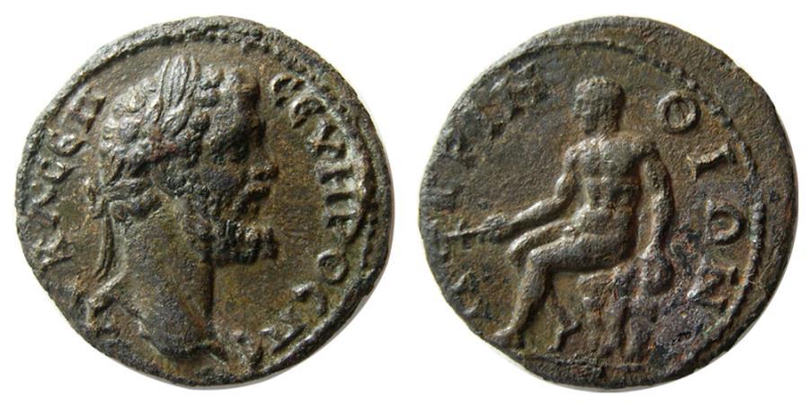 Ancient Coins - THRACE, Perinthus. Septimius Severus. AD 193-211. Æ.