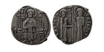 World Coins - ITALY, Venice. Ca. 1200s. AR half Grosso. Scarce.