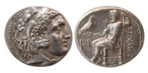Ancient Coins - SELEUKID KINGS, Seleukos I. 312-281 BC. AR Tetradrachm. Seleukeia on the Tigris mint.