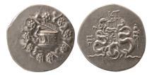 Ancient Coins - MYSIA, Pergamon. 133-67 BC. AR Cistophoric Tetradrachm.