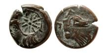 Ancient Coins - CIMMERIAN BOSPOROS. Pantikapaion. Circa 310-304 BC. Æ21 mm.