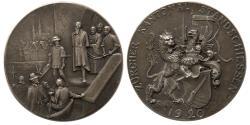 World Coins - SWITZERLAND. 1920. Shooting Festival Silver Medallion.