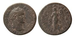 Ancient Coins - PISIDIA. Antioch. Geta. AD. 209-211. Æ. Nicely struck.