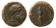 Ancient Coins - SICILY, Syracuse. Timoleon and the Third Democracy. 344-317 B.C. Æ Hemidrachm.