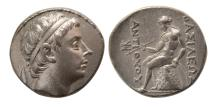 Ancient Coins - SELEUKID KINGDOM. Antiochus III. 223-187 BC. AR Tetradrachm. Lovely strike. Elegant dies.
