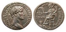 Ancient Coins - CILICIA. Tarsus. Hadrian. 117-138 AD. Silver Tridrachm. Lovely strike. Rare.
