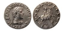 Ancient Coins - KINGS of BAKTRIA. Philoxenos. Circa 115-95 BC. AR Tetradrachm. Rare.