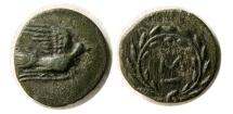 Ancient Coins - SIKYONIA, Sikyon. Ca. 250-200 BC. Æ Chalkous.