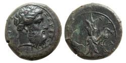 Ancient Coins - SICILY, Syracuse. After Timoleon. Circa 332-317 BC. Æ Drachm.
