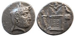 Ancient Coins - KINGS of PERSIS. Vadfradad (Autophradates) II. 2nd century BC. AR Tetradrachm.