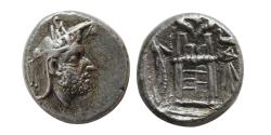 Ancient Coins - KINGS of PERSIS. Uncertain King I. Early-mid 2nd century BC. AR Hemidrachm.