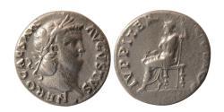 Ancient Coins - ROMAN EMPIRE. Nero. 54-68 AD. Silver Denarius