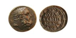 Ancient Coins - LYDIA, Thateira. 2nd Century AD. Æ 15mm.