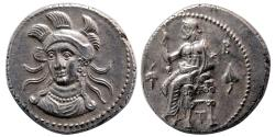 Ancient Coins - CILICIA, Tarsos. Balakros, Satrap of Cilicia. 333-323 BC. AR Stater. Lovely strike.
