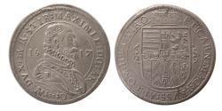 World Coins - GERMANY, Erzherzog Maximilian. 1612-1618. Taler. Struck 1617.
