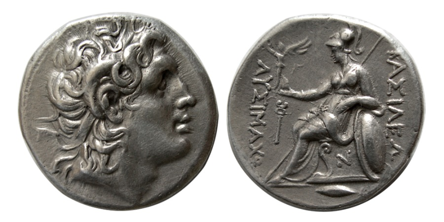 Ancient Coins - THRACE, Kings of. Lysimachos. 323-281 BC. AR Tetradrachm