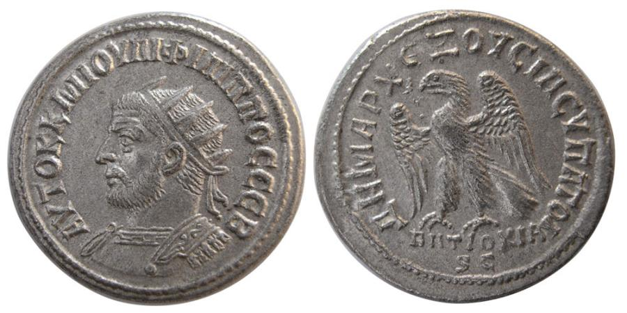 Ancient Coins - SYRIA, Seleucis and Pieria. Antioch. Philip I, AD. 244-249. Billon Tetradrachm.