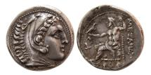 Ancient Coins - KINGS of MACEDON. Alexander III. 336-323 BC. AR Tetradrachm. 'Amphipolis' mint.