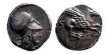 Ancient Coins - CORINTHIA, Corinth. Circa 400-375 BC. AR Stater.