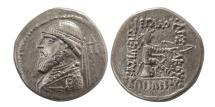 Ancient Coins - KINGS of PARTHIA. Mithradates II. 121-91 BC. AR Drachm. Rare.