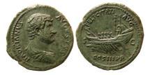 Ancient Coins - ROMAN EMPIRE. Hadrian Augustus, AD. 117–138. Æ As.
