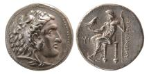 Ancient Coins - WESTERN ASIA MINOR, Uncertain. Circa 323-280 BC. AR Tetradrachm. In the name and types of Alexander III of Macedon.