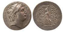 Ancient Coins - SELEUKID KINGS. Antiochos VII Euergetes (Sidetes). 138-129 BC. Silver Tetradrachm. Choice Superb.