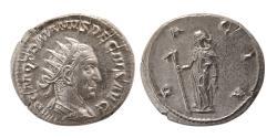 Ancient Coins - ROMAN EMPIRE. Trajan Decius. 249-251 AD. AR Antoninianus. FDC. Lustrous.