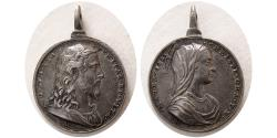 World Coins - WORLD MEDALS, ITALY. 1620-1677.  Silver Devotional Medal, by Alberto Hamerani.