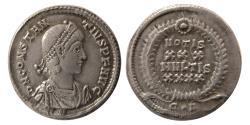 Ancient Coins - ROMAN EMPIRE. Constantius II. 337-361 AD. AR Siliqua.