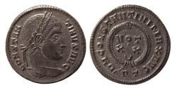 Ancient Coins - ROMAN EMPIRE. Constantine I. AD. 306-337. Æ Follis. Treveri (Trier) mint. Exceptional quality.