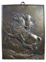 Ancient Coins - FRANCE. Napoleon I. 1804-1814 AD. Bronze Plaque