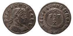Ancient Coins - ROMAN EMPIRE. Crispus, as Caesar. AD 316-326. Æ Follis.