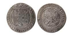 World Coins - SPAIN. Fernando & Isabel. 1474-1510. One Real. Toledo. Lovely strike.