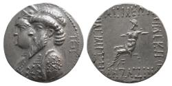 Ancient Coins - KINGS of ELYMIAS. Kamnaskires III and Anzaze. Ca. 82/1-73/2 BC. AR Tetradrachm. Lovely Style.