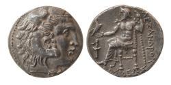 Ancient Coins - MACEDONIAN KINGDOM, Alexander III. 336-323 BC. Silver Tetradrachm. Uncertain eastern mint.