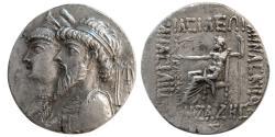 Ancient Coins - KINGS of ELYMAIS. Kamnaskires II/III and Anzaze (82/1-73/2 BC). AR Tetradrachm.