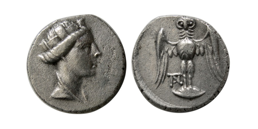 Ancient Coins - PONTOS, Amisos. 3rd-2nd centuries BC. AR Siglos.
