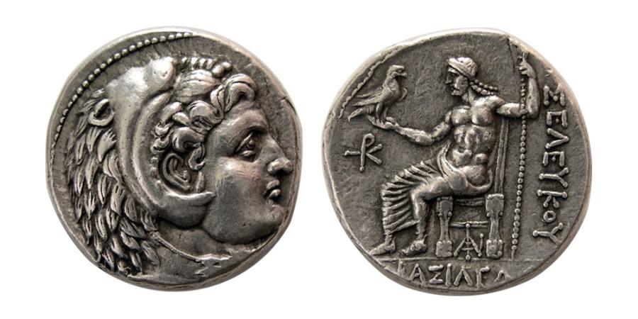 Ancient Coins - SELEUCID KINGDOM. Antiochus I Soter. 281-261 BC. AR Tetradrachm.  Susa mint. Lovely strike.