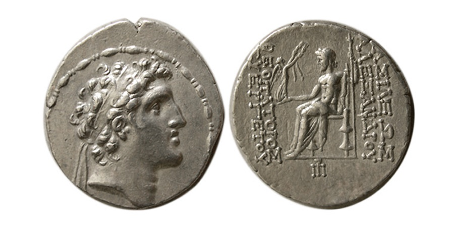 Ancient Coins - SELEUKID KINGS. Alexander I Balas. 152-145 BC. AR Tetradrachm. Antioch mint.