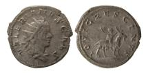 Ancient Coins - ROMAN EMPIRE. Valerian II, as Caesar. 256-258 AD. AR Antoninianus.
